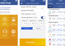 App for Travel Services