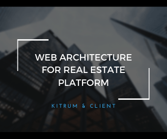 web architecture for real estate platform