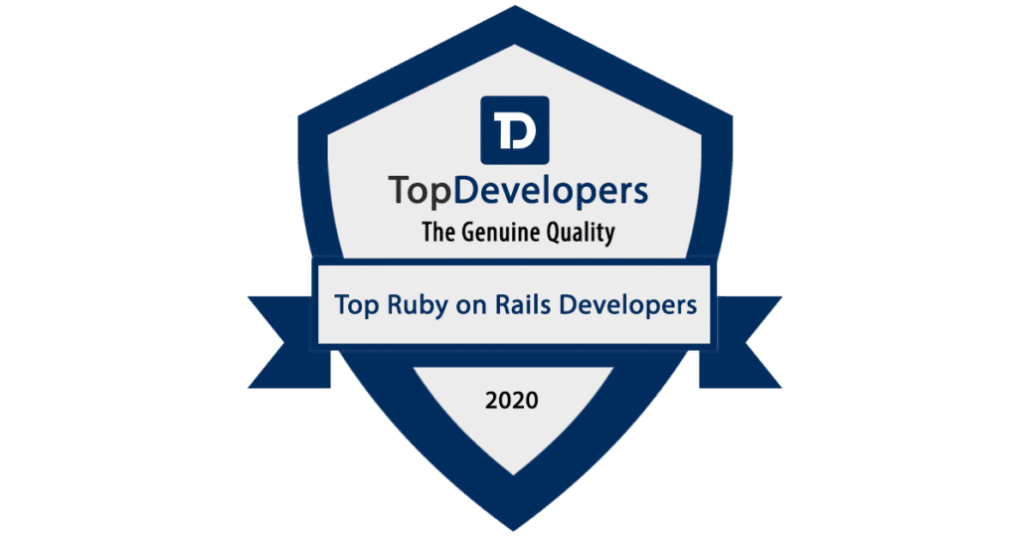 KitRUM has been recognized as a Best Ruby on Rails Development Company