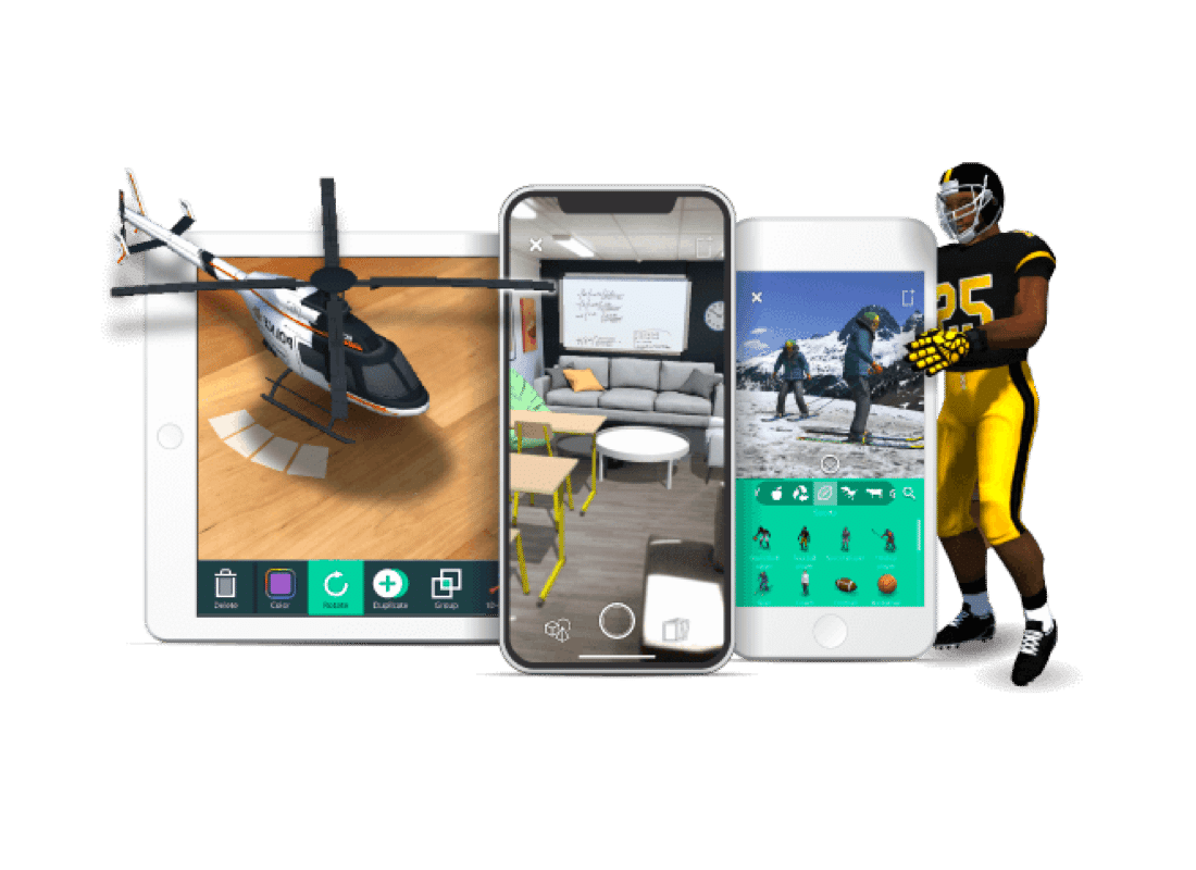 Augmented Reality tools for an Edtech startup