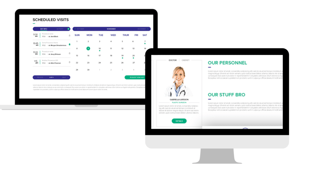 Scheduling feature of Medical Practice Management Software