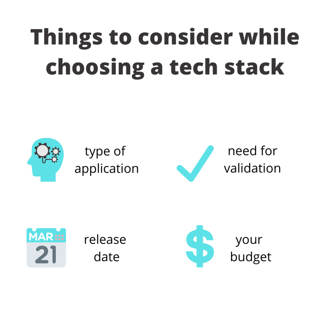 tech stack for mobile apps